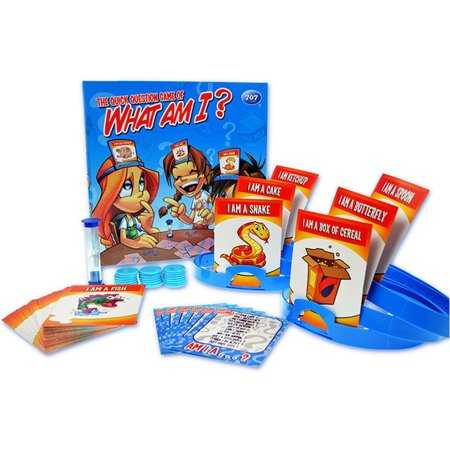 What Am I Guessing Board Game Family Travel Card Kids entertainment-www.uktourcenter.com