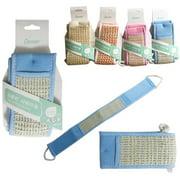 3 Exfoliating Loofa Scrubber Back Strap Bath Sponge Loofah Body Shower Massage