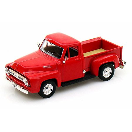 1953 Ford Pickup Truck, Red - Yatming 94204 - 1/43 Scale Diecast Model Toy