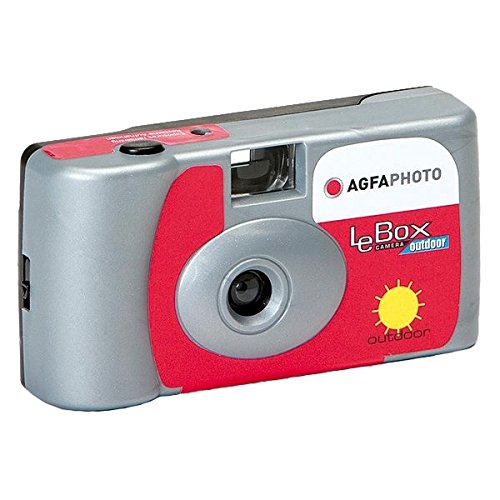 Agfa Photo LeBox Outdoor 35mm Disposable Camera, 27 Exposure, ISO 400 Color Film by AgfaPhoto