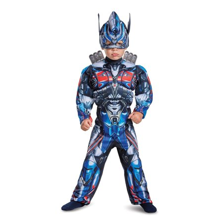 Transformers - Optimus Prime Toddler Muscle Costume - Size Toddler 3-4](Wholesale Transformers)
