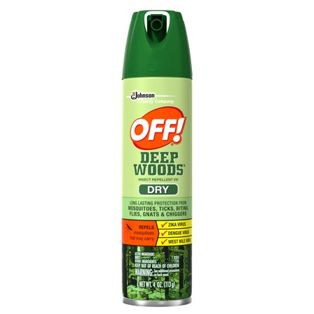 Off  Deep Woods Dry Insect Repellent  4 Oz