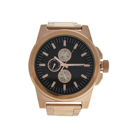 LVAG3733-7 Rose Gold Stainless Steel Bracelet Watch by Louis Villiers for Men - 1 Pc Watch - image 1 de 2