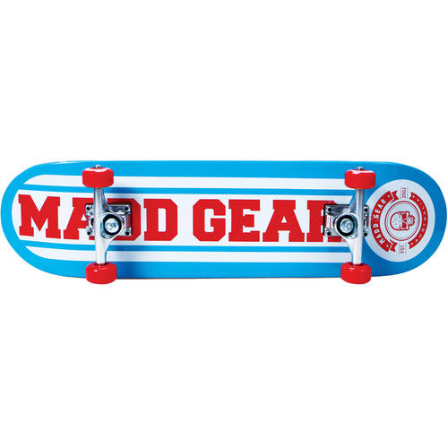 Madd Gear Pro 31� Complete Skateboard Gameplay Red Blue by Madd Gear
