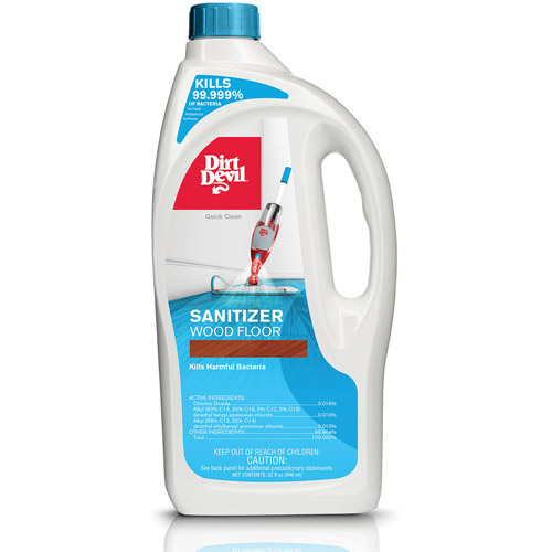 Dirt Devil Sanitizer Wood Floor Cleaning Solution 32 oz, AD30005