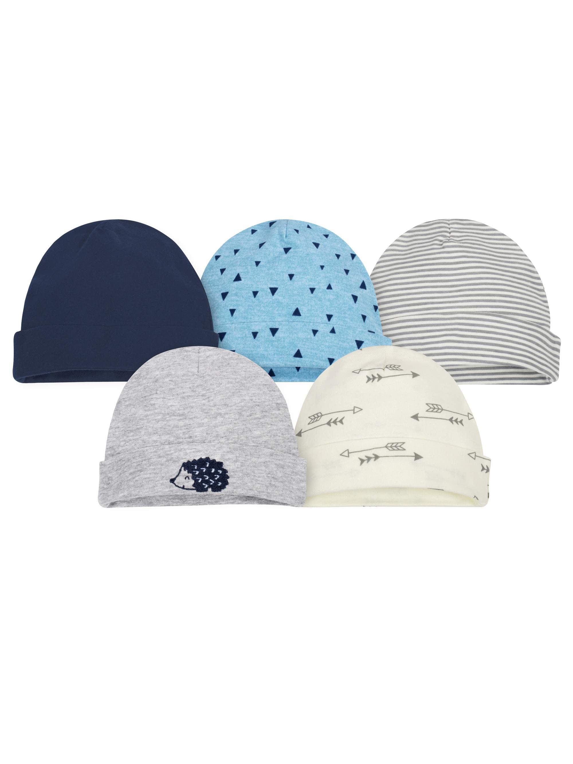 Assorted Caps Set, 5pk (Baby Boy)
