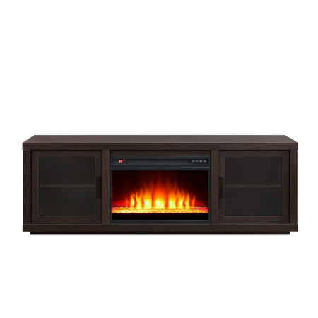 Espresso Finish - Best Fireplace TV Stands