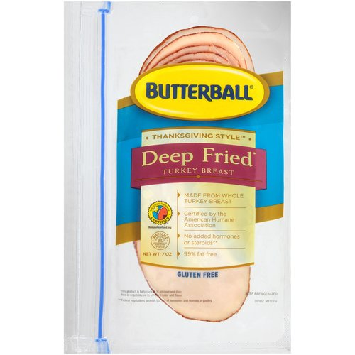 Butterball Deep Fried Thanksgiving Style Turkey Breast, 7 oz