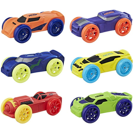 Nerf Nitro Foam Car 6-Pack (Version (1/8 Nitro Off Road Car)