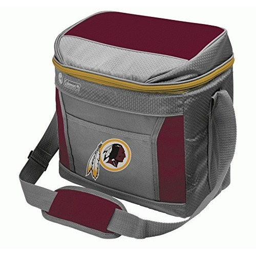 NFL Washington Redskins 16 Can Soft-Sided Cooler with Ice, Maroon