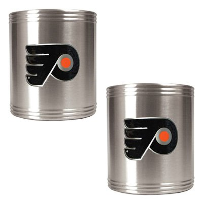 Great American NHL Logo Stainless Steel Can Holder Set