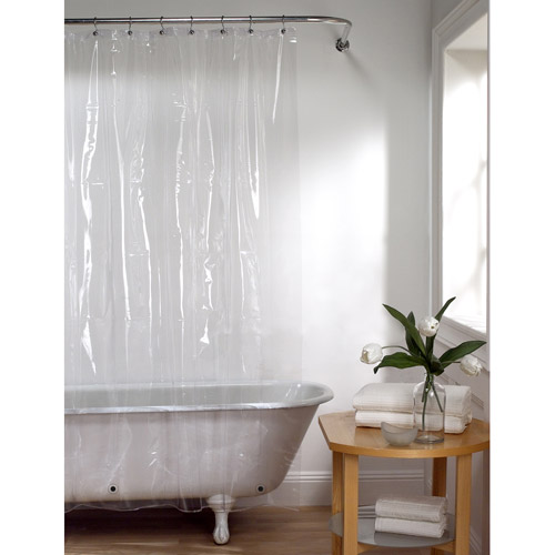 Maytex Heavy 8-Gauge EVA Vinyl Shower Curtain Liner