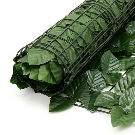 3.3 x 9.8ft Artificial Faux Lvy Leaf Hide Fence Screen Decor Panels Outdoor Hedge - image 3 of 11