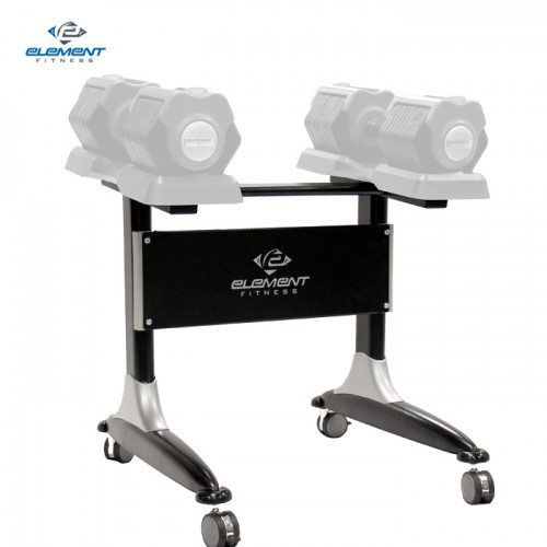 Element Fitness Adjustable Dumbbell Rack Only