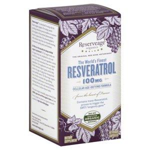 Reserveage Organics Reserveage  Resveratrol, 60 ea