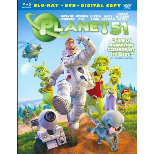 Planet 51 (Blu-ray   Standard DVD) (Widescreen)