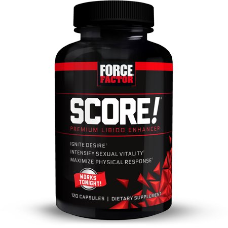 Force Factor SCORE! Libido Enhancer Capsules, 120
