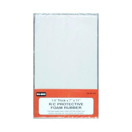 (Dubro Products DUB513 0.25 in. Protective Foam Rubber)