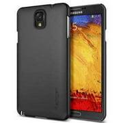 Galaxy Note 3 Case, Spigen [Ultra Fit] Non-Slip [Smooth Black] Rubbery Feel Non-Slip Grip Matte Hard Case for Galaxy Note 3 - Sm