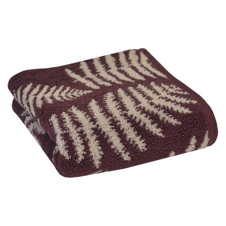 Sanderson Fern Jacquard Cotton Hand Towel