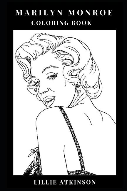 - Marilyn Monroe Coloring Book: Icon Of Beauty And Pin Up Girl, Sex Symbol Of  The Kennedy Era And Pop Culture Icon Inspired Adult Coloring Book -  Walmart.com - Walmart.com