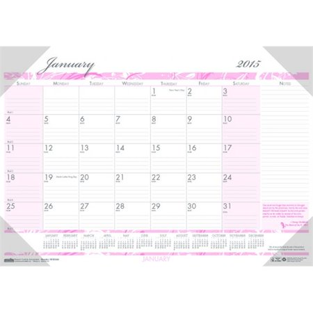 House of Doolittle HOD1467 Breast Cancer Awareness Compact Desk Pad, Julian Dates - image 1 of 1