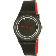 Swatch Boy's Originals GB294 Black Silicone Swiss Quartz Watch