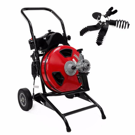 100 1 2 Quot 400w Electric Sewer Snake Drain Auger Cleaner