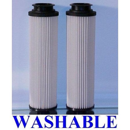 Hoover WASHABLE and REUSABLE Hepa Filters for All Bagless Hoover Windtunnels 2 Quanity