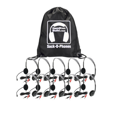 Buhl Sack-O-Phones 10 Personal Headset with Microphone