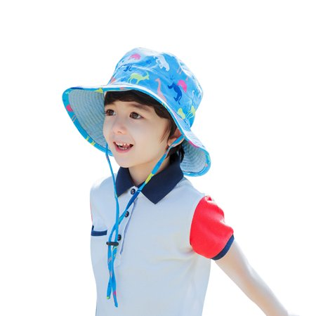 95054ed7961 Vbiger - Vbiger Kids Bucket Hat Reversible Beach Bucket Cap Adorable  Outdoor Sun Hat with Adjustable Chin Strap and Cute Cartoon Pattern -  Walmart.com