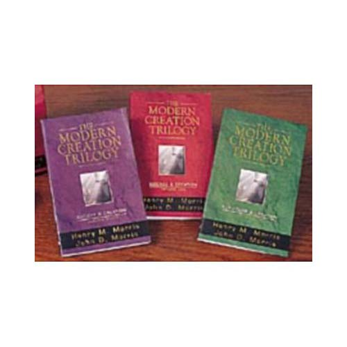 The Modern Creation Trilogy: Scripture and Creation, Science and Creation, Society and Creation