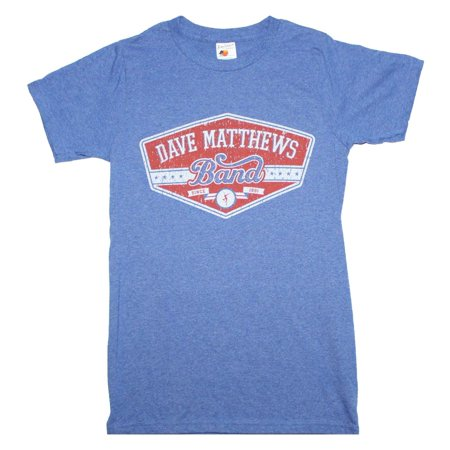 Dave Matthews Band East Side T-Shirt - Heather Blue - Large