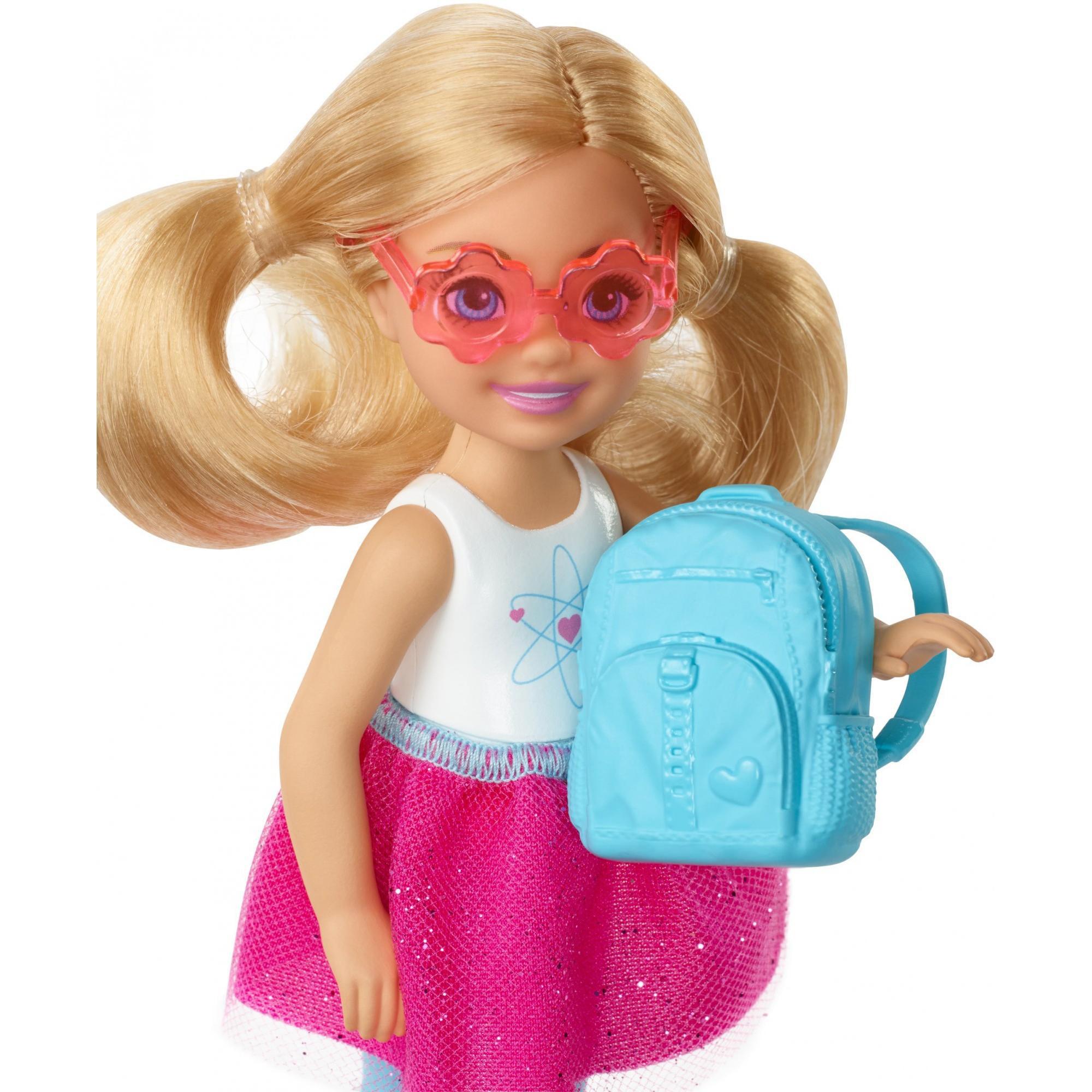 Barbie Chelsea Doll Travel Set With Puppy Accessories Walmart Com Walmart Com
