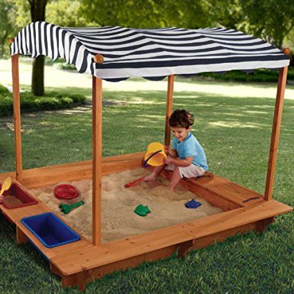 OutdoorA Outdoor Sandbox with Canopy [Istilo281812] by
