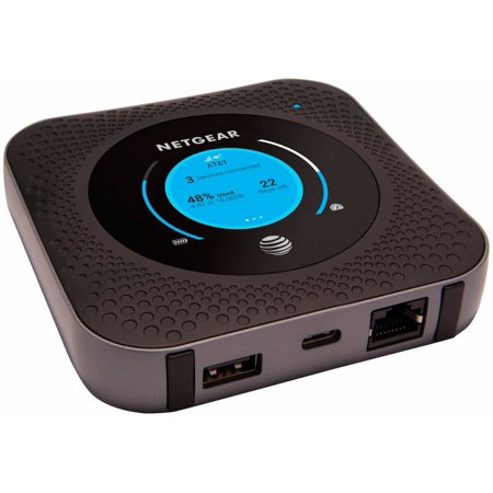 NETGEAR Nighthawk Mobile Hotspot Router 4G LTE AT&T GSM Unlocked (Open-Box) ()