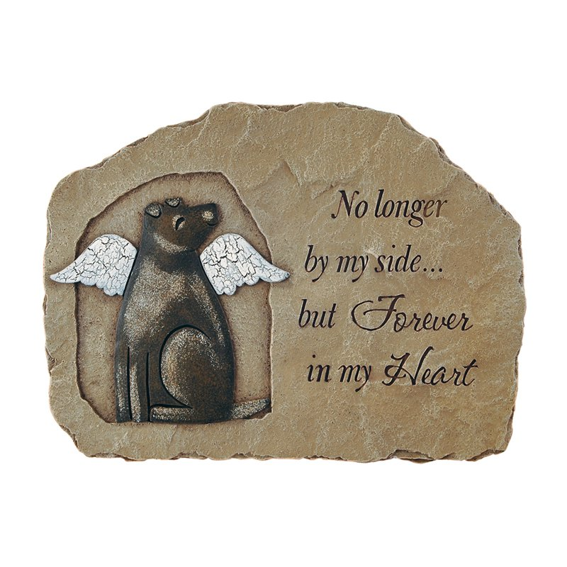 Carson Home Accents Dog Memorial - Garden Stone