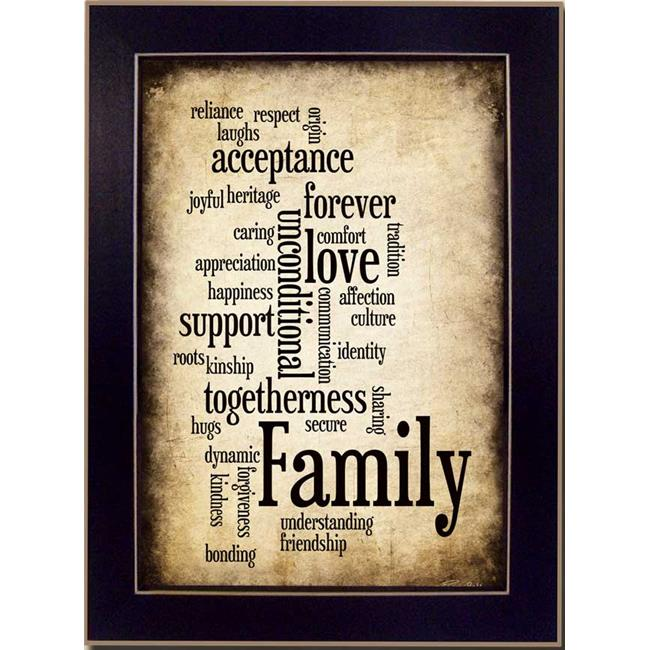 "Click here to buy ""Family I"" by Susan Ball Printed Framed Wall Artwork by Millwork Engineering."