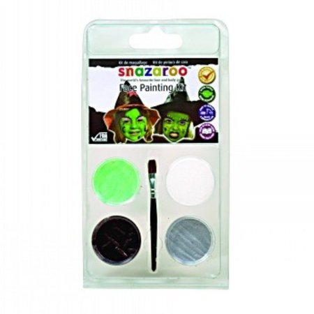 RubyRedPaint Witch Mini Face Painting Clam Shell Kit (Set of 2)