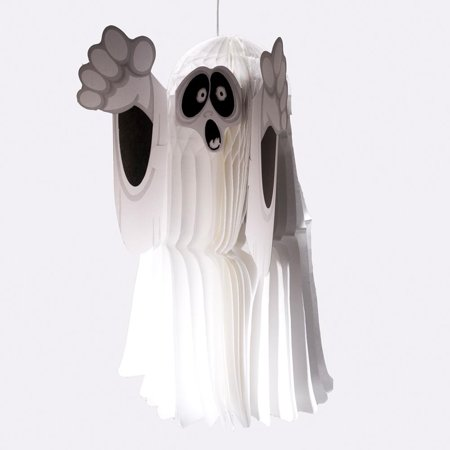 Art Tissue Hanging Ghost Decoration for - Halloween Art History