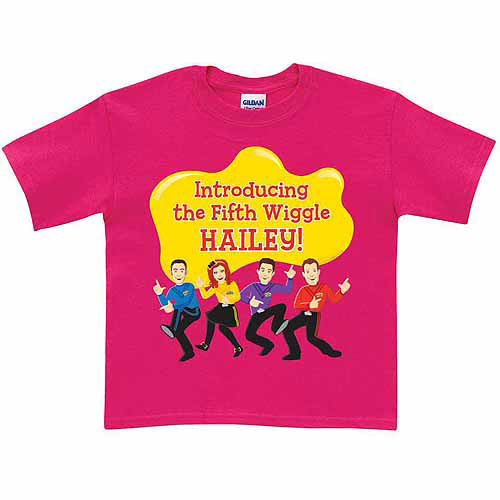 Personalized The Wiggles Fifth Wiggle Toddler Girl Hot T-Shirt, Pink