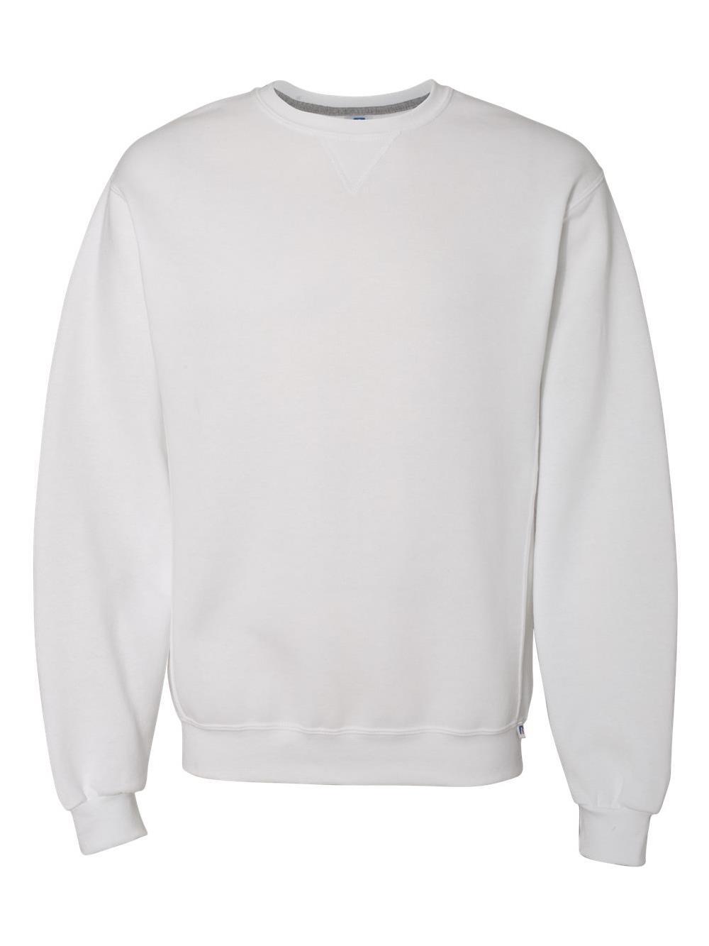 Russell Athletic Mens Dri-Power Fleece Crewneck T-Shirt