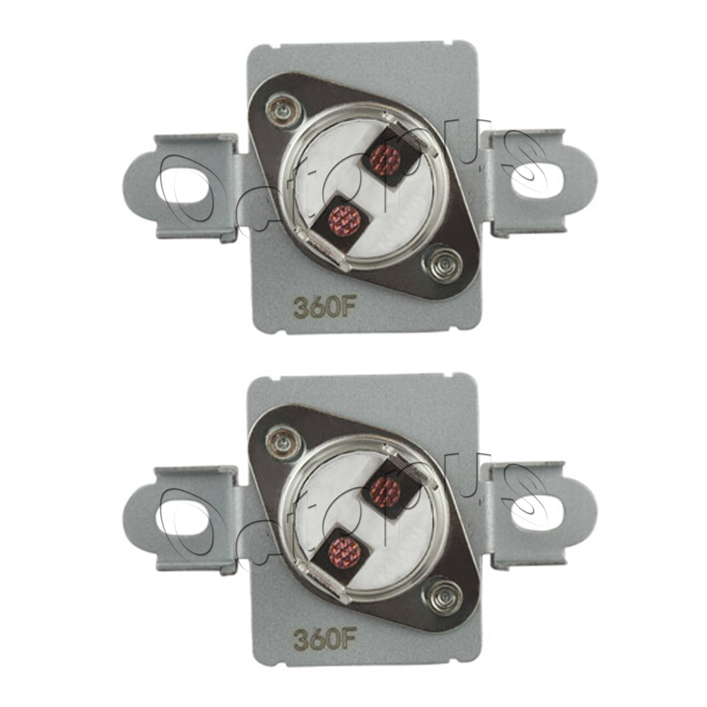 3 Pack WP40113801 Thermal Fuse 40113801 Fits Whirlpool Maytag AP6009129