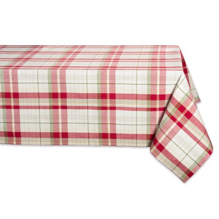 DII Orchard Plaid Tablecloth, 52