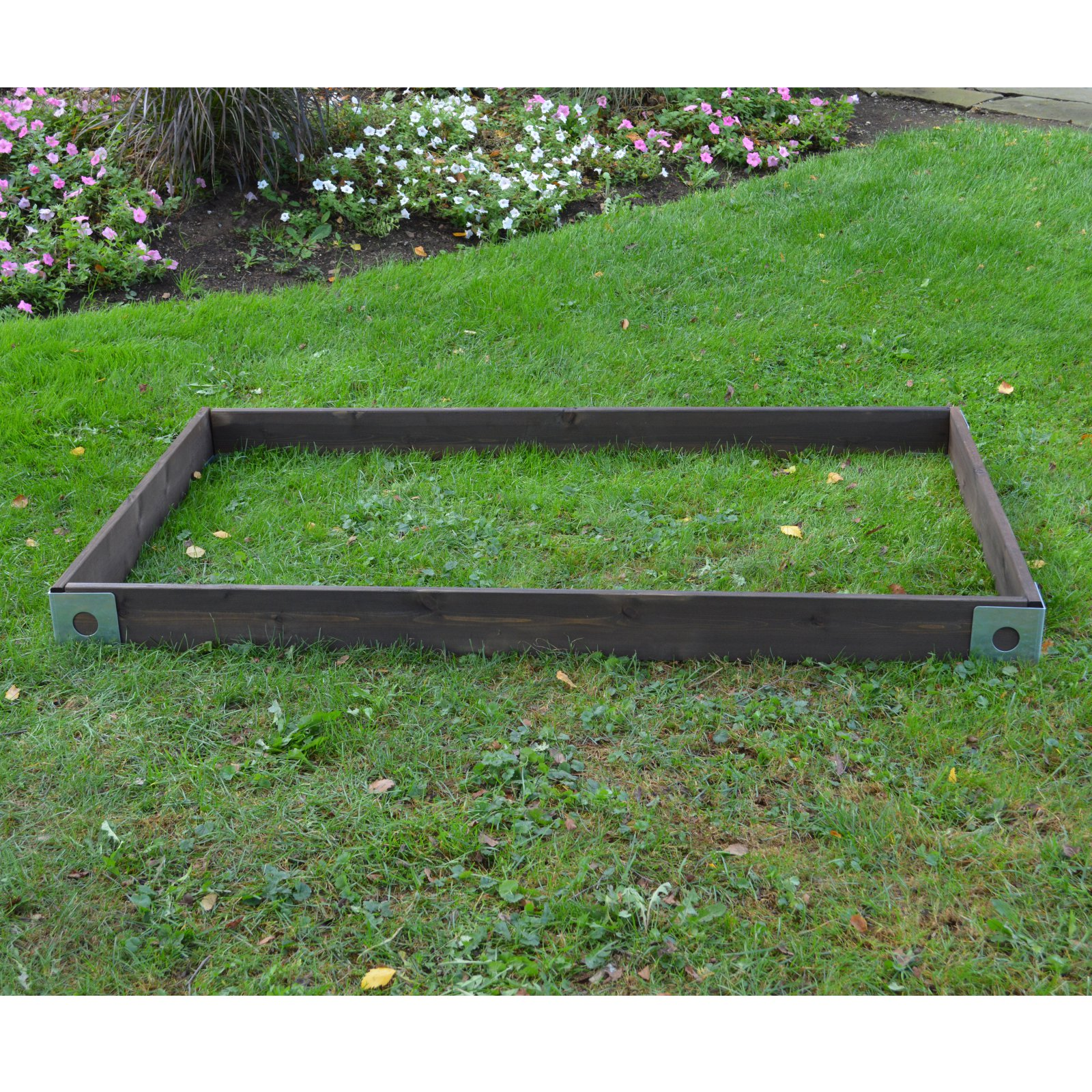 A & L Furniture Cedar Raised Garden Bed With Steel Corners