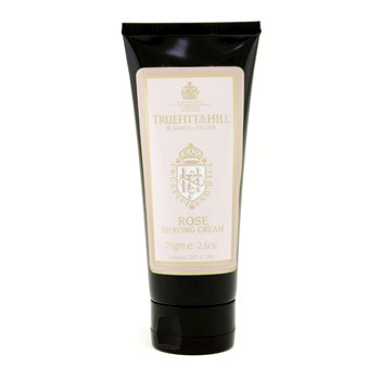 Truefitt   Hill Rose Shaving Cream  Travel Tube