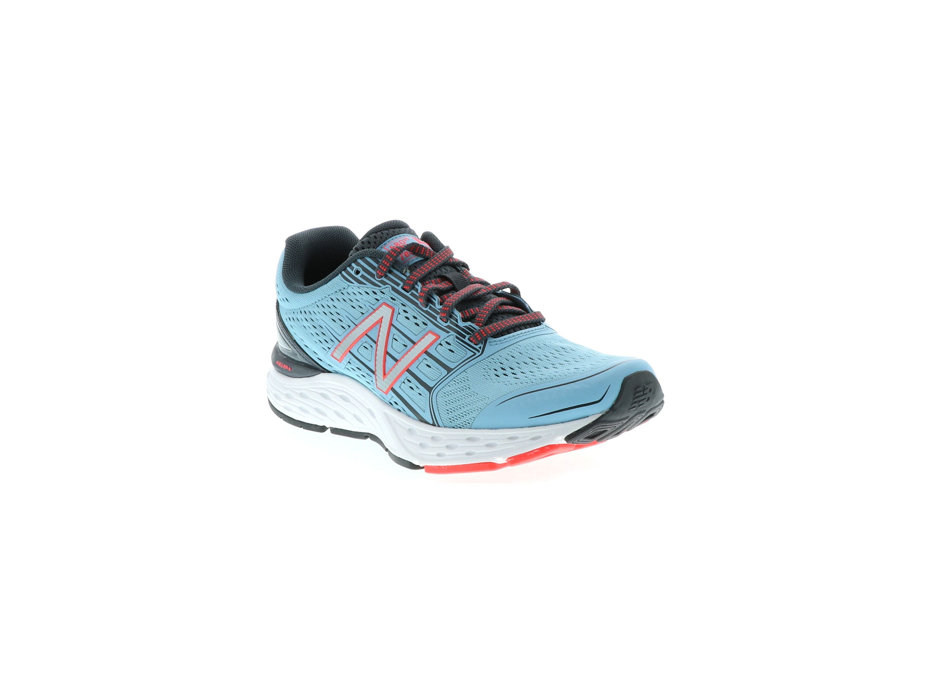 New Balance Womens W680lm5 Fabric Low Top Lace Up Running Sneaker by New Balance