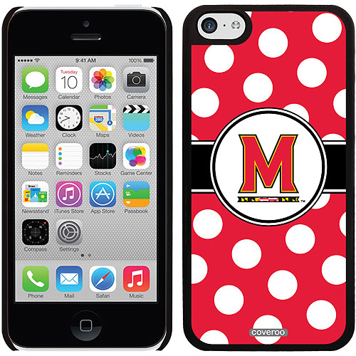 Maryland Polka Dots Design on iPhone 5c Thinshield Snap-On Case by Coveroo