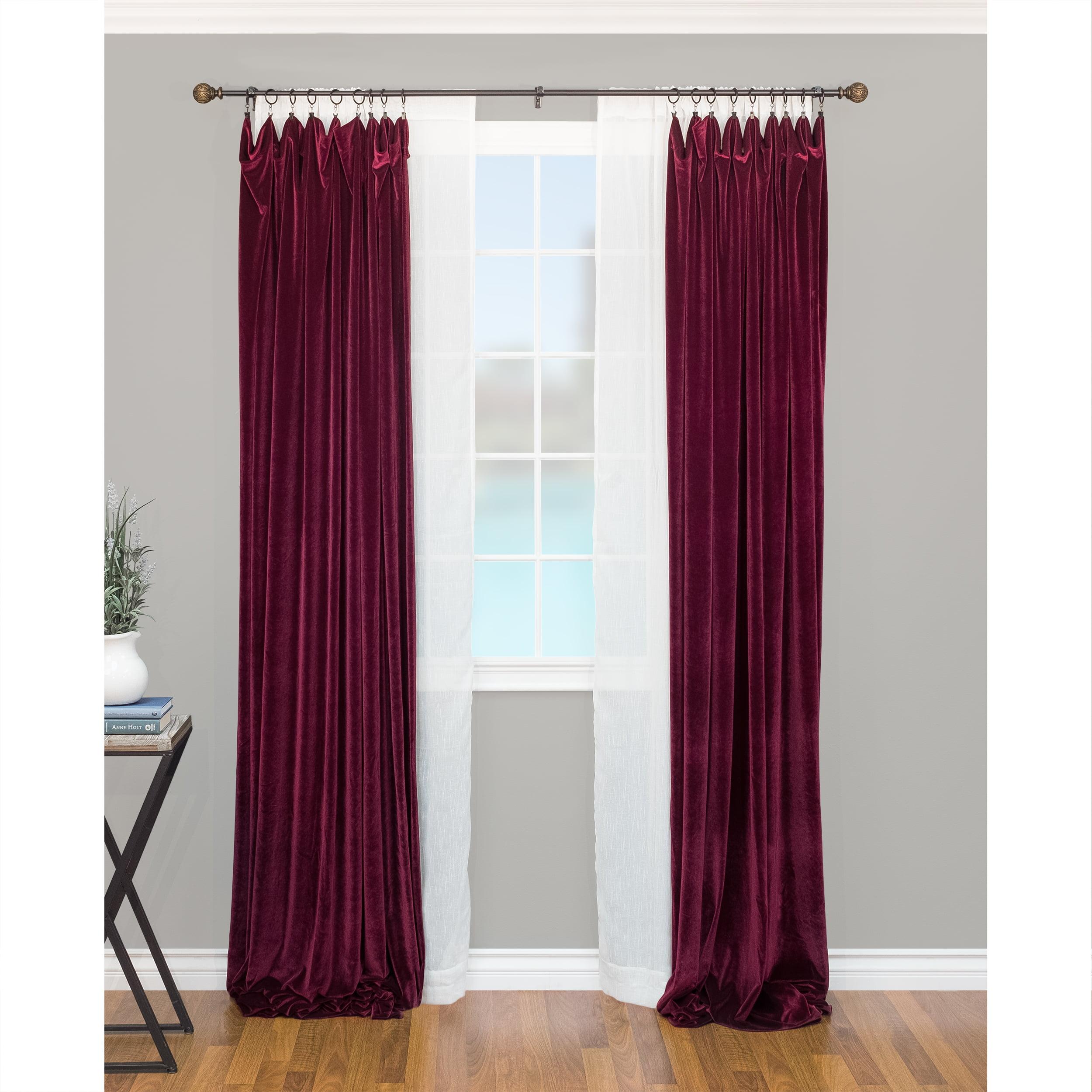montevilla core leaf ball 5 8 double curtain rod set