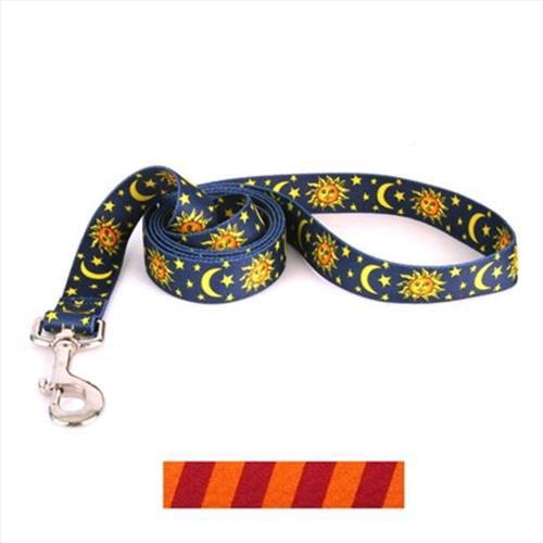 Yellow Dog Design TSMO106LD 1 inch x 60 inch Team Spirit Maroon and Orange Lead